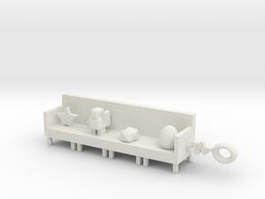 Sofa pendant in White Natural Versatile Plastic: 1:16