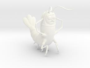 Morty Shrimp in White Processed Versatile Plastic