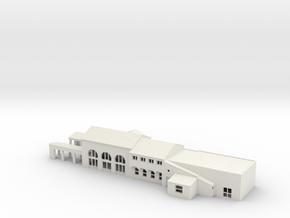 Fullerton Station N scale in White Natural Versatile Plastic