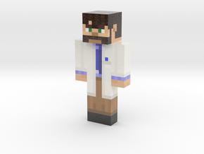 ScottRadish | Minecraft toy in Glossy Full Color Sandstone