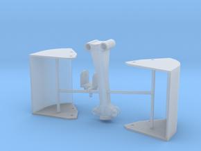 Zweischalengreifer für Umschlagbagger in Smoothest Fine Detail Plastic