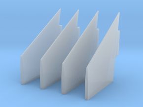 1:72 S-IC Fairing Fins in Smooth Fine Detail Plastic