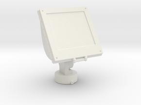 Printle Thing External Spotlight - 1/32 in White Natural Versatile Plastic