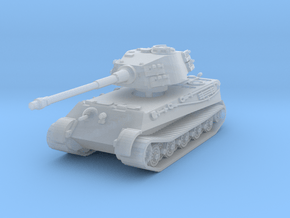 Tiger II H (no Skirts) 1/200 in Smooth Fine Detail Plastic