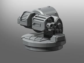 Storm Thunder-Rifle Rhinoceros Weapon in Smooth Fine Detail Plastic: Medium