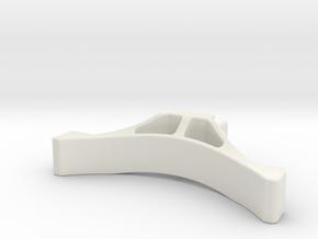 SC28 NanoSport Bumper (SH-short) in White Natural Versatile Plastic