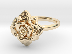 The Rose in 14K Yellow Gold: 6 / 51.5