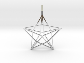 Star Wisher in Polished Silver