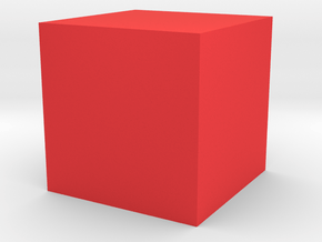 cube 1 cm in Home and Garden in Red Processed Versatile Plastic