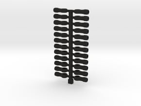 SCX24 DIY Rod Ends in Black Natural Versatile Plastic