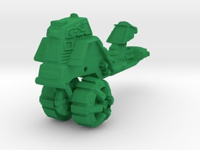 ROAD RIPPER Mega Construx scale  in Green Processed Versatile Plastic