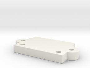 GL Racing R8 Front clip for PN BM001 in White Natural Versatile Plastic