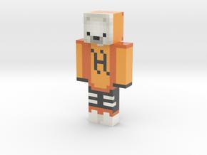 Heroriginal | Minecraft toy in Glossy Full Color Sandstone