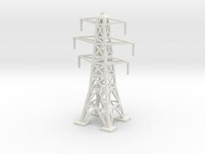 Transmission Tower 1/160 in White Natural Versatile Plastic