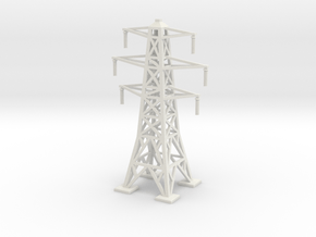 Transmission Tower 1/220 in White Natural Versatile Plastic