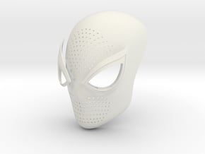Spiderman ps4 Face Shell in White Natural Versatile Plastic