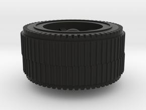 Mekanda Robo Jumbo tire in Black Premium Versatile Plastic