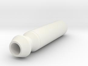 Mekanda Robo Jumbo missile in White Premium Versatile Plastic