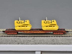Journal Box Buckeye Trucks for Marklin flatcar wit in Smooth Fine Detail Plastic