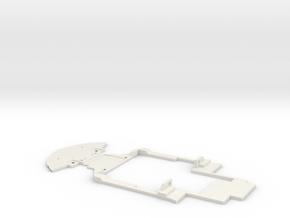 Sous chassis Mc Laren 12C GT3 in White Natural Versatile Plastic