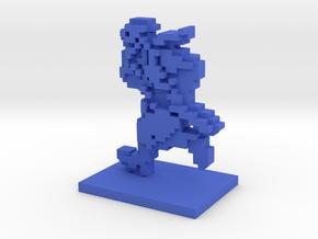 PixFig: Ryu in Blue Processed Versatile Plastic