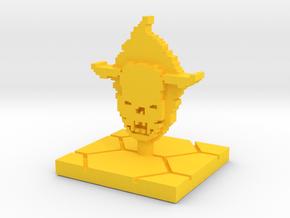PixFig: Soul in Yellow Processed Versatile Plastic