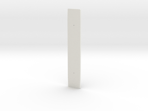 NS 1600 bodem (scale 0) in White Natural Versatile Plastic