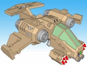 """6mm """"Talonstorm"""" VTOL Gunship (2pcs) in Smooth Fine Detail Plastic"""