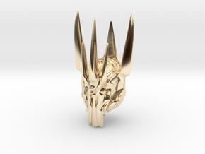 Sauron helmet  in 14K Yellow Gold