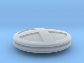 Xmen Cosplay Button Pair in Smooth Fine Detail Plastic
