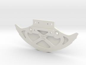 McLaren - 4WD - Renfort & support carrosserie in White Natural Versatile Plastic