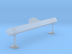 EP48 M&H backboard in Smooth Fine Detail Plastic