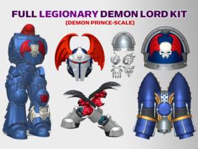 Nightmare : Legionary Demon Lord Kit 1 in Smooth Fine Detail Plastic