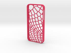 iPhone 5/5s Reptile Case in Pink Processed Versatile Plastic