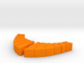 Lobstros Arms in Orange Processed Versatile Plastic: Large
