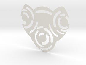 enigma baseplate  in White Natural Versatile Plastic
