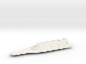 1/350 CSS Virginia Casemate Rear in White Natural Versatile Plastic