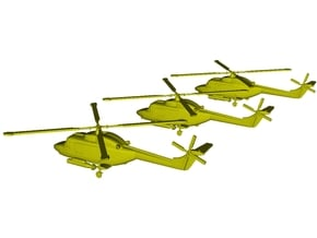 1/220 scale Westland Lynx Mk 95 weapons armed x 3 in Smoothest Fine Detail Plastic