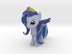 Snowflake Sparkle Pony in Full Color Sandstone