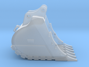 """1:50 48"""" SD Bucket for 20 Ton excavators V2 in Smooth Fine Detail Plastic"""