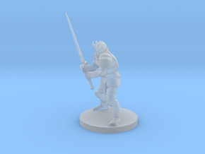 Knight in Smooth Fine Detail Plastic