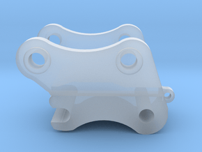 1:64 385B/385C Quick Coupler  in Smooth Fine Detail Plastic