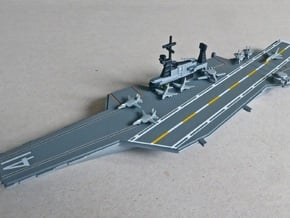 USS Midway (CV-41) (Final Layout), 1/1200 in White Natural Versatile Plastic