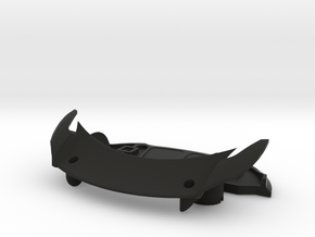 Pack-AERO-2 in Black Natural Versatile Plastic