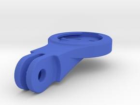 Garmin BMC ICS Mount - Short in Blue Processed Versatile Plastic