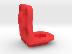 Cine RT Ultra Sonic Base Bottom & Back Mount  in Red Processed Versatile Plastic