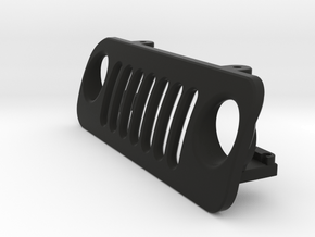 Vanquish Ripper 7 Slot Grill by SuperShafty in Black Natural Versatile Plastic