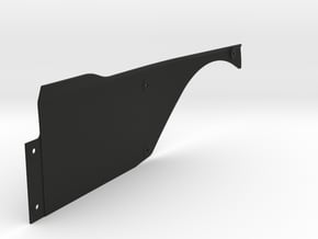Vanquish Ripper RIGHT Side Panel by SuperShafty in Black Natural Versatile Plastic