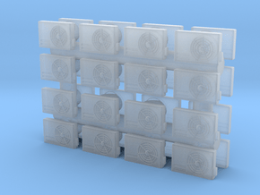 Air Conditioning Unit (x32) 1/160 in Smooth Fine Detail Plastic