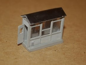 N-Scale Scale Shack in Smooth Fine Detail Plastic